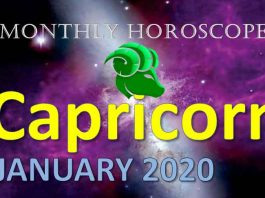 capricorn monthly horoscope for january 2020