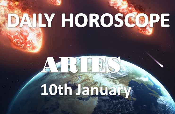 aries daily horoscope 10th january 2020