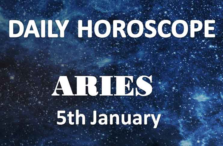 aries daily horoscope 5th january 2020
