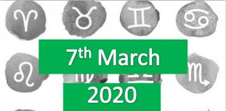 daily horoscope today 7th march 2020