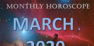 monthly horoscope for march 2020