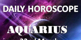 aquarius daily horoscope 22nd march 2020