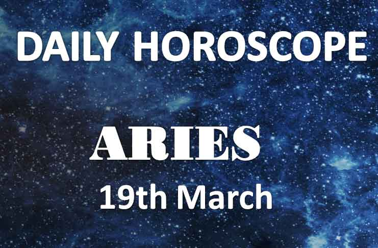 aries daily horoscope 19th march 2020