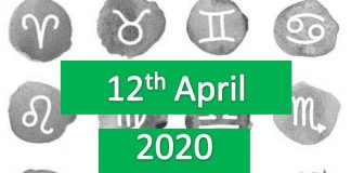 daily horoscope today sunday 12thapril 2020