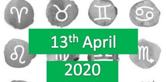 daily horoscope today monday 13th april 2020