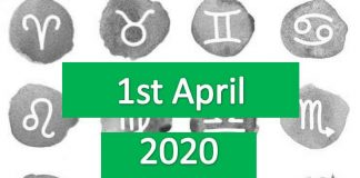 daily horoscope today wednesday 1st april 2020
