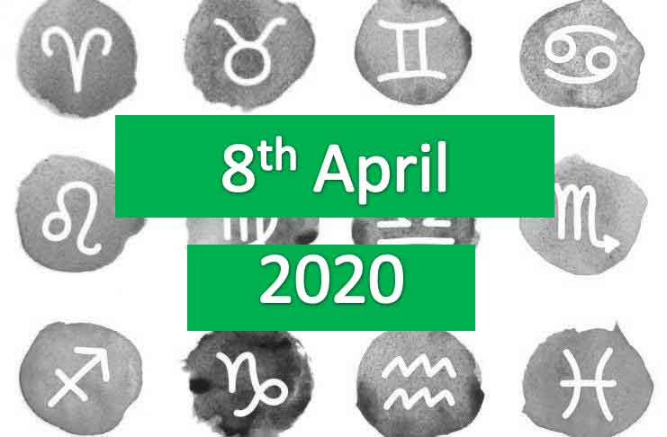 daily horoscope today wednesday 8th april 2020