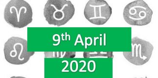daily horoscope today thursday 9th april 2020
