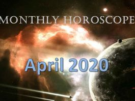 monthly horoscope april 2020