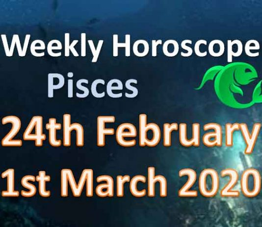pisces weekly horoscope this week 30th march to 5th april 2020