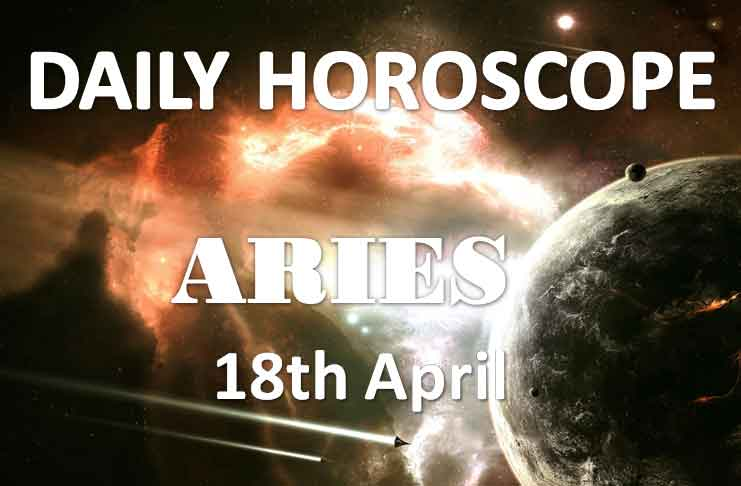 aries daily horoscope 18th april 2020