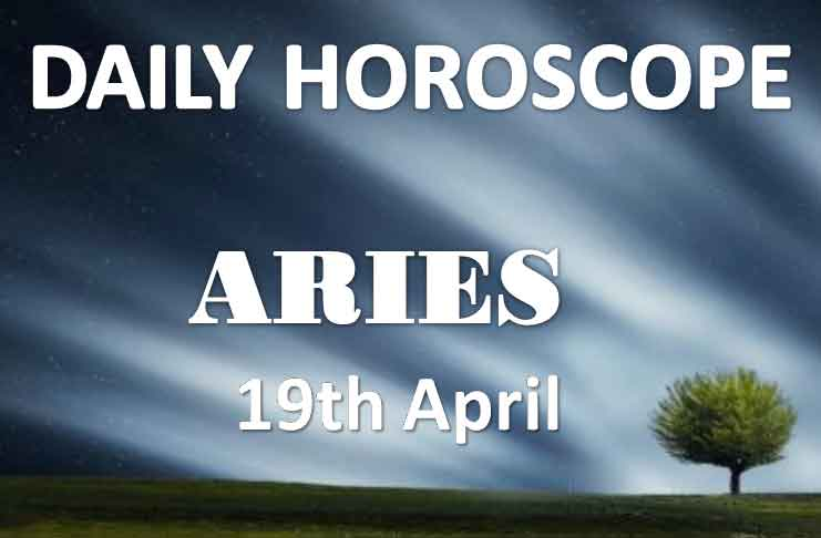aries daily horoscope 19th april 2020