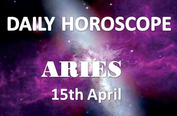 aries daily horoscope 15th april 2020