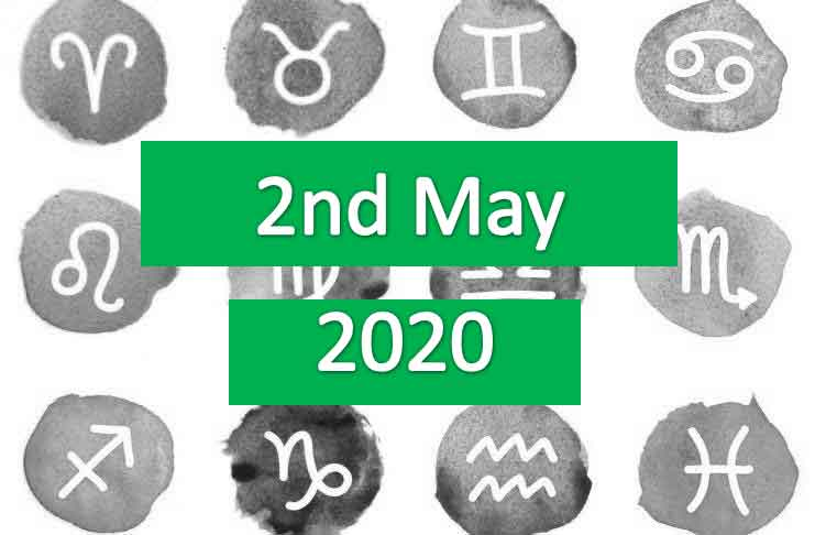 daily horoscope today 2nd may 2020