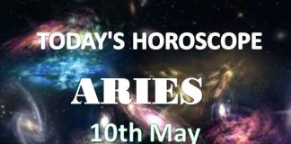 aries daily horoscope 10th may 2020