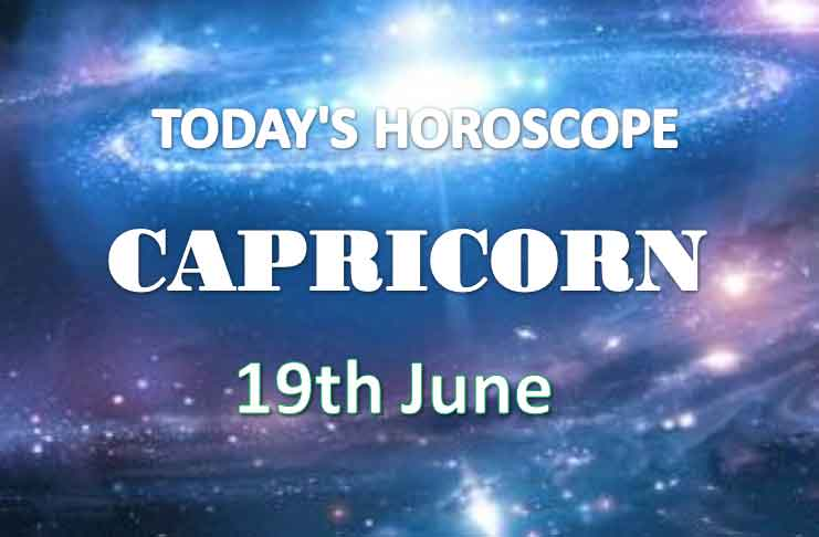 capricorn daily horoscope 19th june 2020
