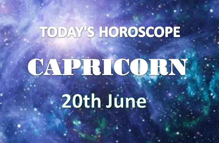 capricorn daily horoscope 20th june 2020