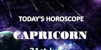 capricorn daily horoscope 21st june 2020