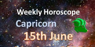 capricorn weekly horoscope 15th june to 21st june 2020