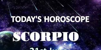 scorpio daily horoscope 21st june 2020