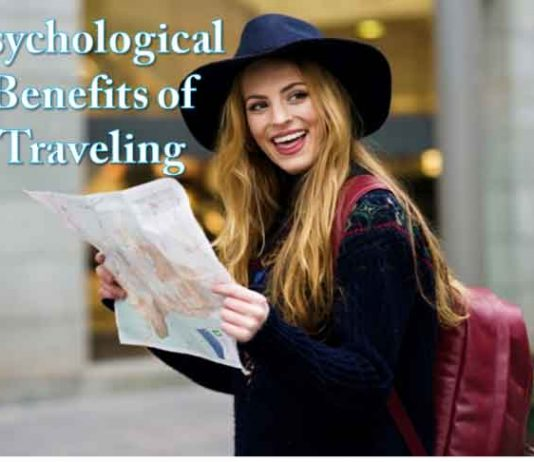 psychological benefits of travelling