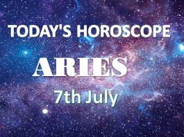 aries daily horoscope 7th july 2020