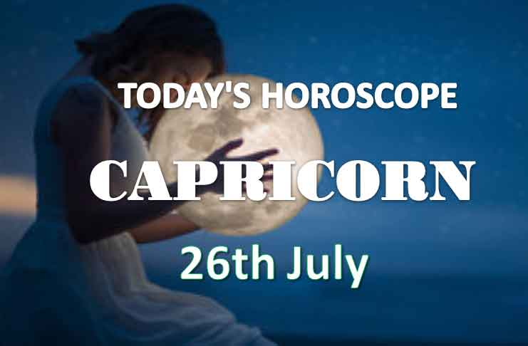 capricorn daily horoscope 26th july 2020