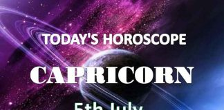 capricorn daily horoscope 5th july 2020