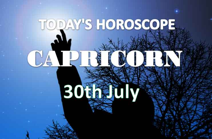 capricorn daily horoscope 30th july 2020