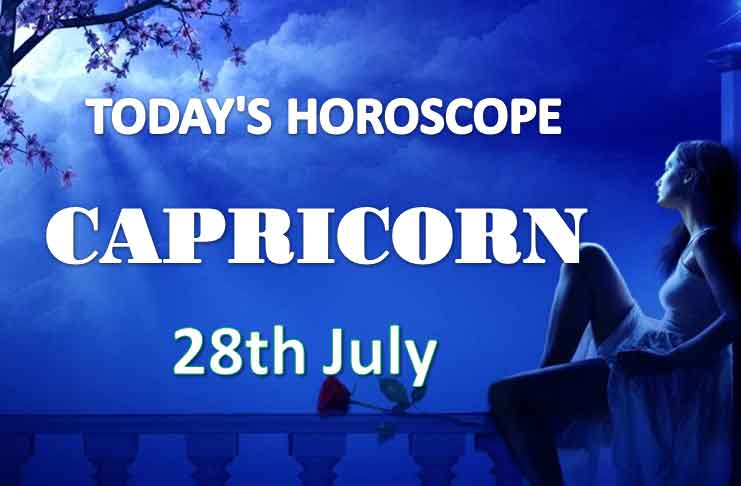 capricorn daily horoscope 28th july 2020