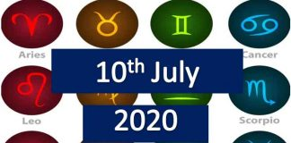 daily horoscope today friday 10th July 2020