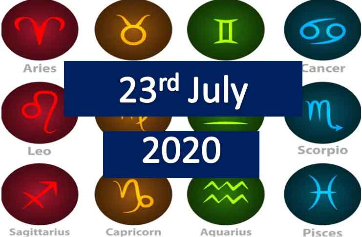 daily horoscope today thursday 23rd July 2020