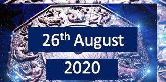 daily horoscope today 26th august 2020