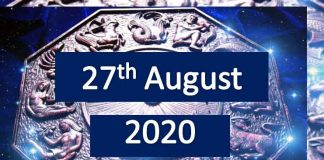 daily horoscope today 27th august 2020