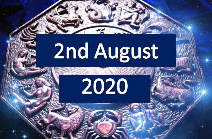 daily horoscope today 2nd august 2020