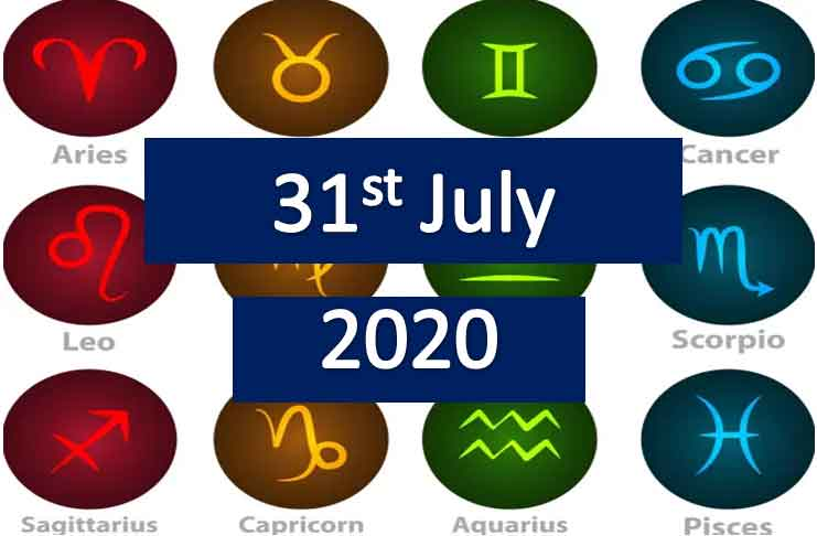 daily horoscope today friday 31st July 2020