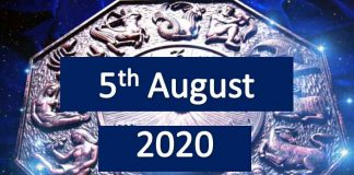 daily horoscope today 5th august 2020
