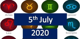 daily horoscope today sunday 5th July 2020