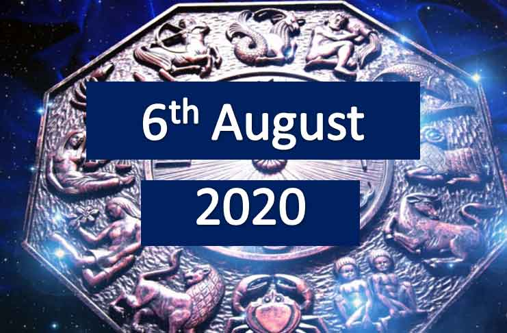 daily horoscope today 6th august 2020