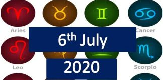 daily horoscope today monday 6th July 2020