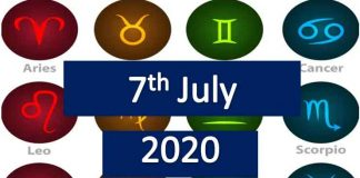 daily horoscope today tuesday 7th July 2020