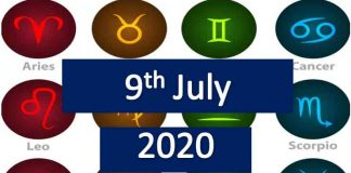 daily horoscope today thursday 9th July 2020