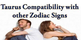 taurus love compatibility with other zodiac signs
