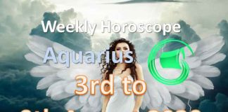 aquarius weekly horoscope 3rd to 9th august 2020