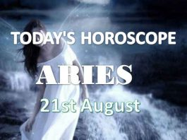 aries daily horoscope 21st august 2020