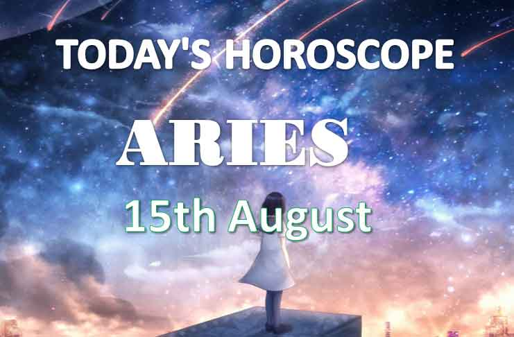 aries daily horoscope 15th august 2020