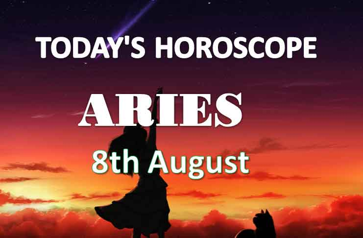 aries daily horoscope 8th august 2020