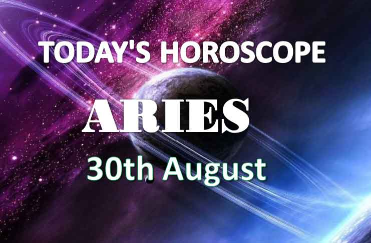 aries daily horoscope 30th august 2020