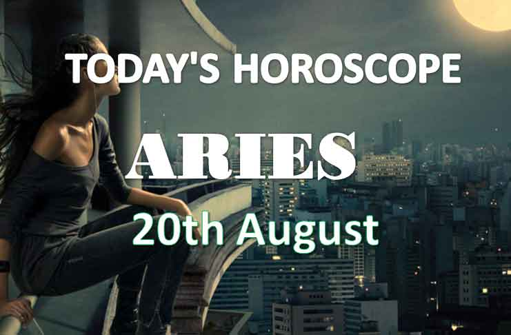 aries daily horoscope 20th august 2020