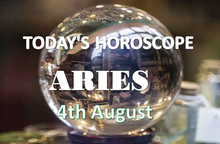 aries daily horoscope 4th august 2020